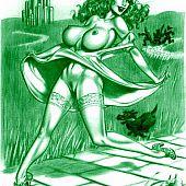 Dorothy porn cartoons.