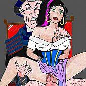 Porn cartoons.