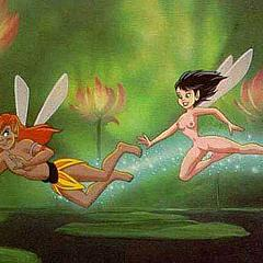 Cartoons tinkerbelle.