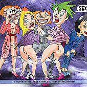 Dreaming having sex cartoon.